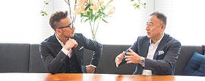 マニュライフ生命吉住社長との対談が日経電子版にて公開されました。